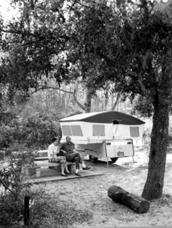 Campers in Ocala National Forest
