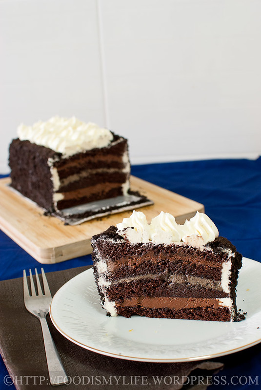 Genoise Layer Cake Moule  Cm