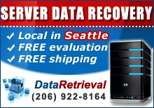Server Data Recovery Seattle