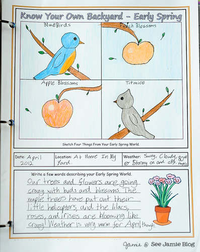 Spring Nature Page