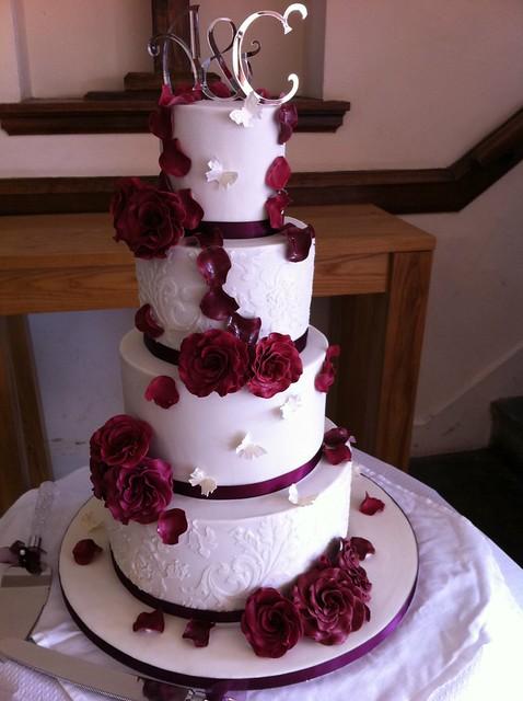 4 Tier Wedding Cake Flickr Photo Sharing