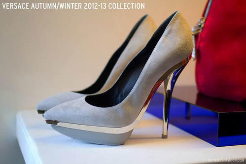 VERSACE AUTUMN/WINTER AW12 2012 FW21 PRESS DAY