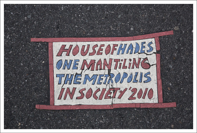 Toynbee Tile 5th Avenue and 83rd Street NYC