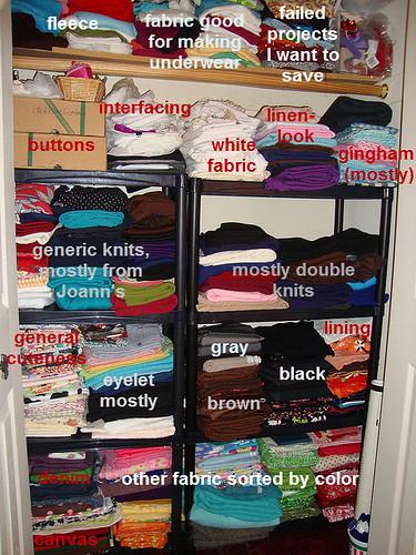 annotated closet