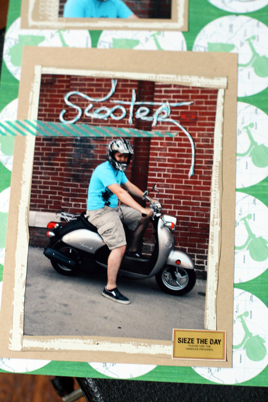Scooter | Using twine techniques