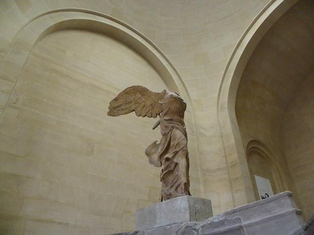Victoria de Samotracia, Museo del Louvre