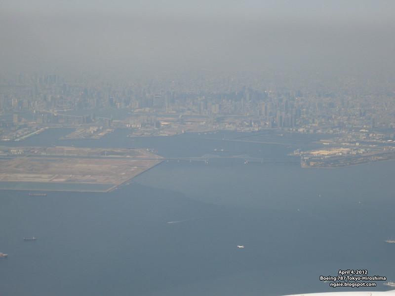 Haneda-Hiroshima 787 Flight