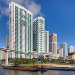 Brickell Skyline from the Miami River