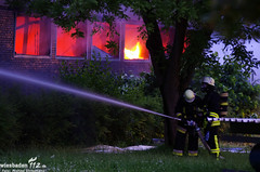 Feuer Schreinerei Rüsselsheim 21.06.12