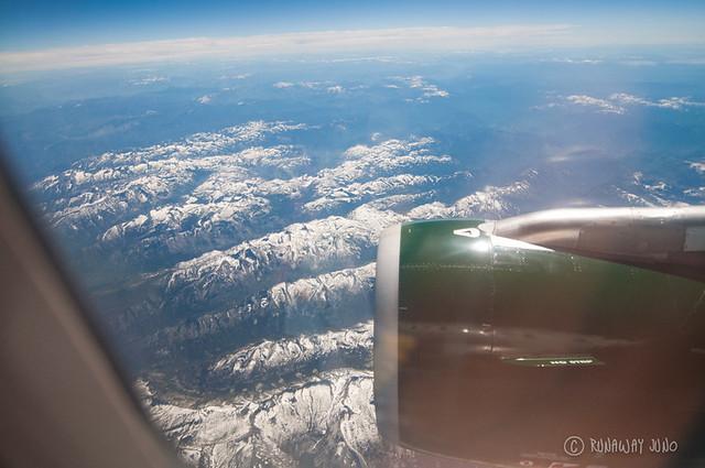 Aerial View over Idaho, USA