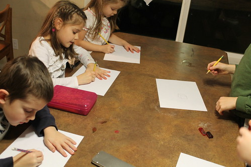 Studious pupils