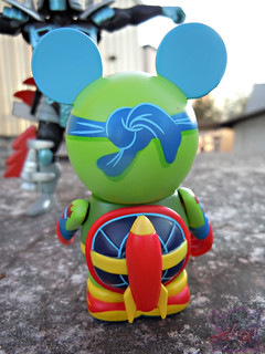 "Vinylmation ZOOPER HEROES :: 'ZIPPY THE ROCKET TURTLE' - DISNEY VINYL 3"" v ((  2013 ))"