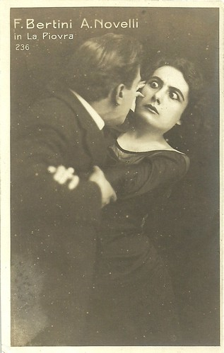 Francesca Bertini and Amleto Novelli La piovra