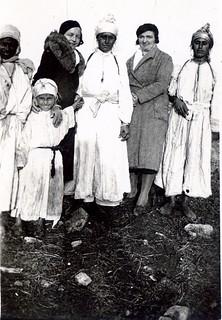 Maroc, années 30 en hiver - Morocco 1930s