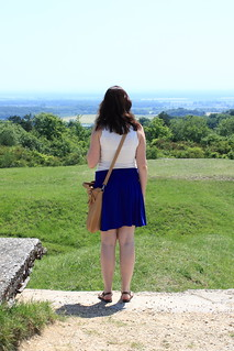View from Fort Vaux, Verdun, France