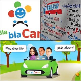 Collage bla bla car