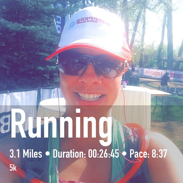 Last minute switch to the 5k results in a PR! #rrmag #ultraorbust