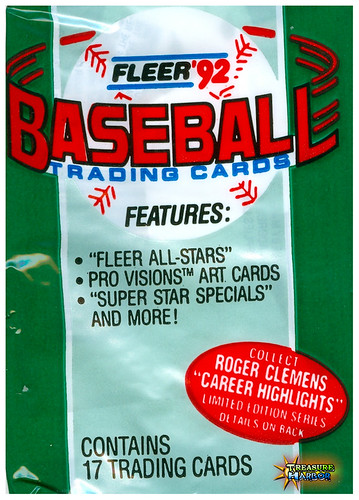 1992 Fleer Baseball Card Wrapper!