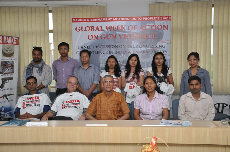 Week of Action Against Gun Violence 2011 - India - Manipur Women Gun Survivors Network and CAFI