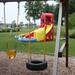 Buckeye Gymnastics Westerville outdoor play area and water slide