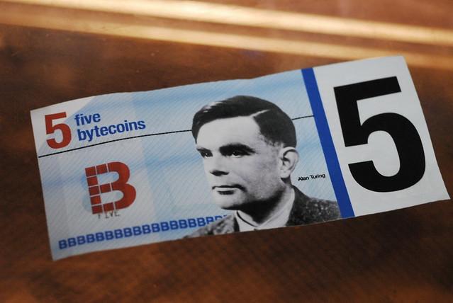 Alan Turing bytecoins