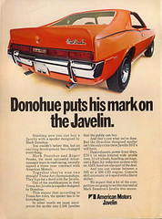1970 AMC Javelin Mark Donohue Edition Ad - USA