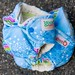 Bubble Reef Newborn & One-Size Fitted Diaper