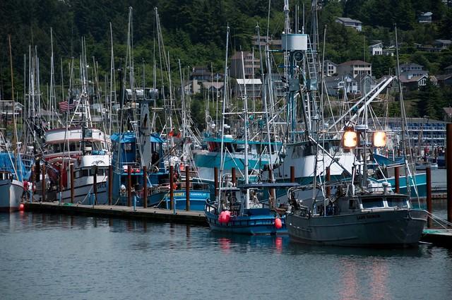 Newport, Oregon harbour