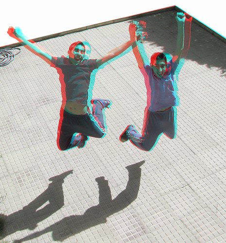 boys persian stereoscopic 3d jump jumping iran picture anaglyph stereo iranian depth throughthewindow redcyan phantogram 3dpicture dabiri ttweffect آناگلیف اناگلیف عکسسهبعدی