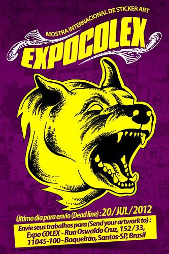Expo COLEX 2012 - Flyer / Frente