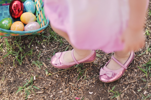 delilah's pink glitter mary janes with bows