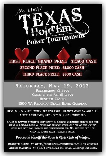 Boys and Girls Club Poker