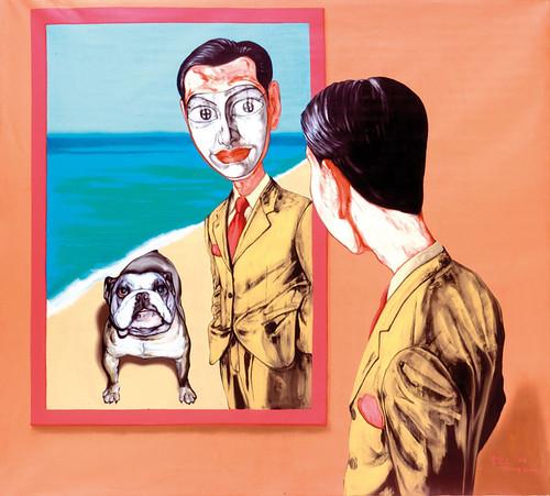Zeng Fanzhi, Mask Series 1998