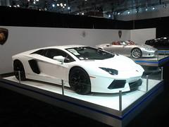 lamborghini reventã³n(0.0), lamborghini murciã©lago(0.0), automobile(1.0), lamborghini(1.0), lamborghini aventador(1.0), wheel(1.0), vehicle(1.0), performance car(1.0), automotive design(1.0), lamborghini(1.0), auto show(1.0), land vehicle(1.0), luxury vehicle(1.0), supercar(1.0), sports car(1.0),