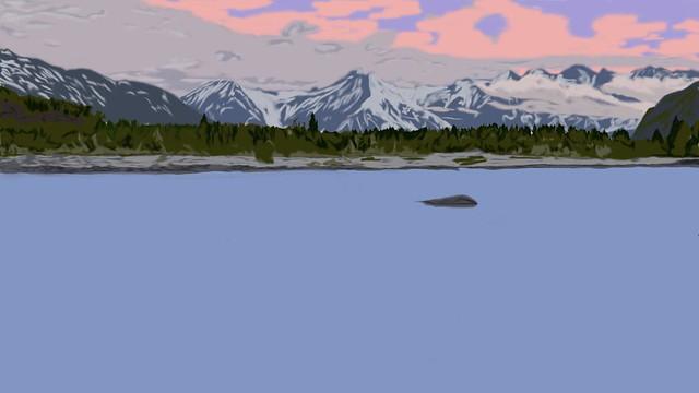 Digital Landscape 5, Alaska