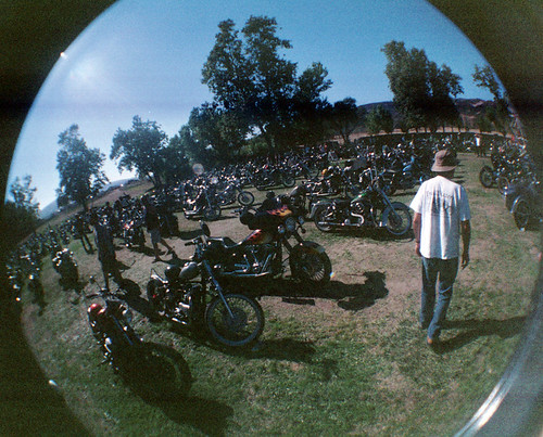 Born Free Motorcycles fisheye