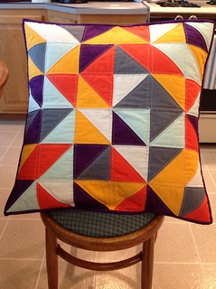 Modern Quilt Guild Pillow Swap