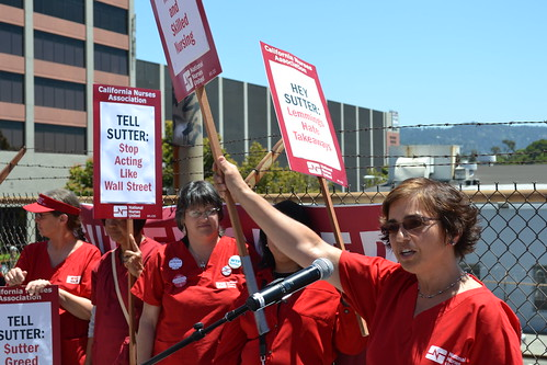 Sutter RNs Ready to Strike Wednesday, June 13
