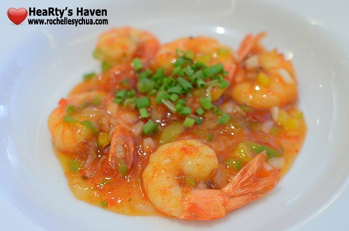 Market Cafe Hyatt Chili Shrimp
