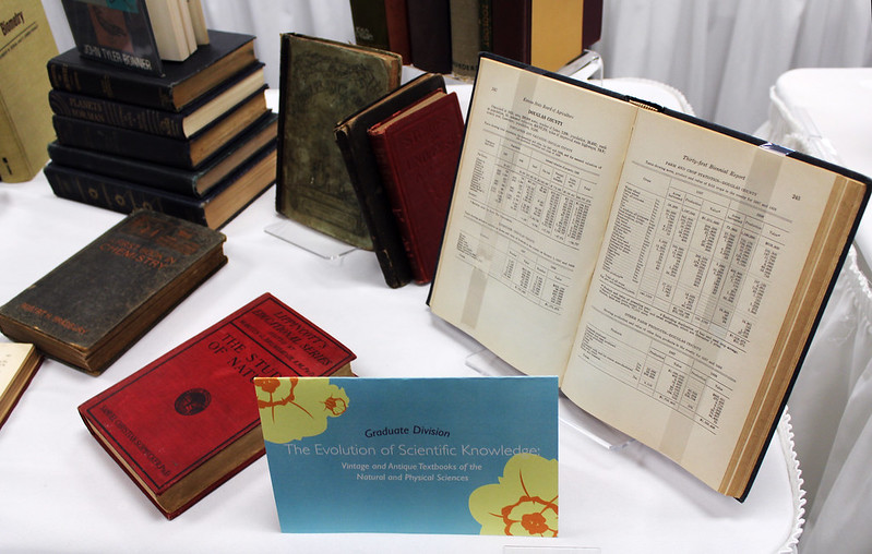 "2012 Graduate Division Winner:  Laci Gerhart's collection ""The Evolution of Scientific Knowledge: Vintage and Antique Textbooks of the Natural and Physical Sciences"""