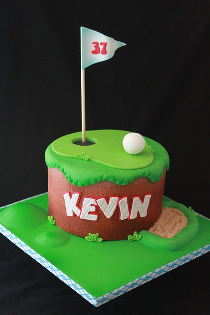 Golf Cakes - a gallery on Flickr