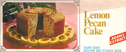Lemon Pecan Cake