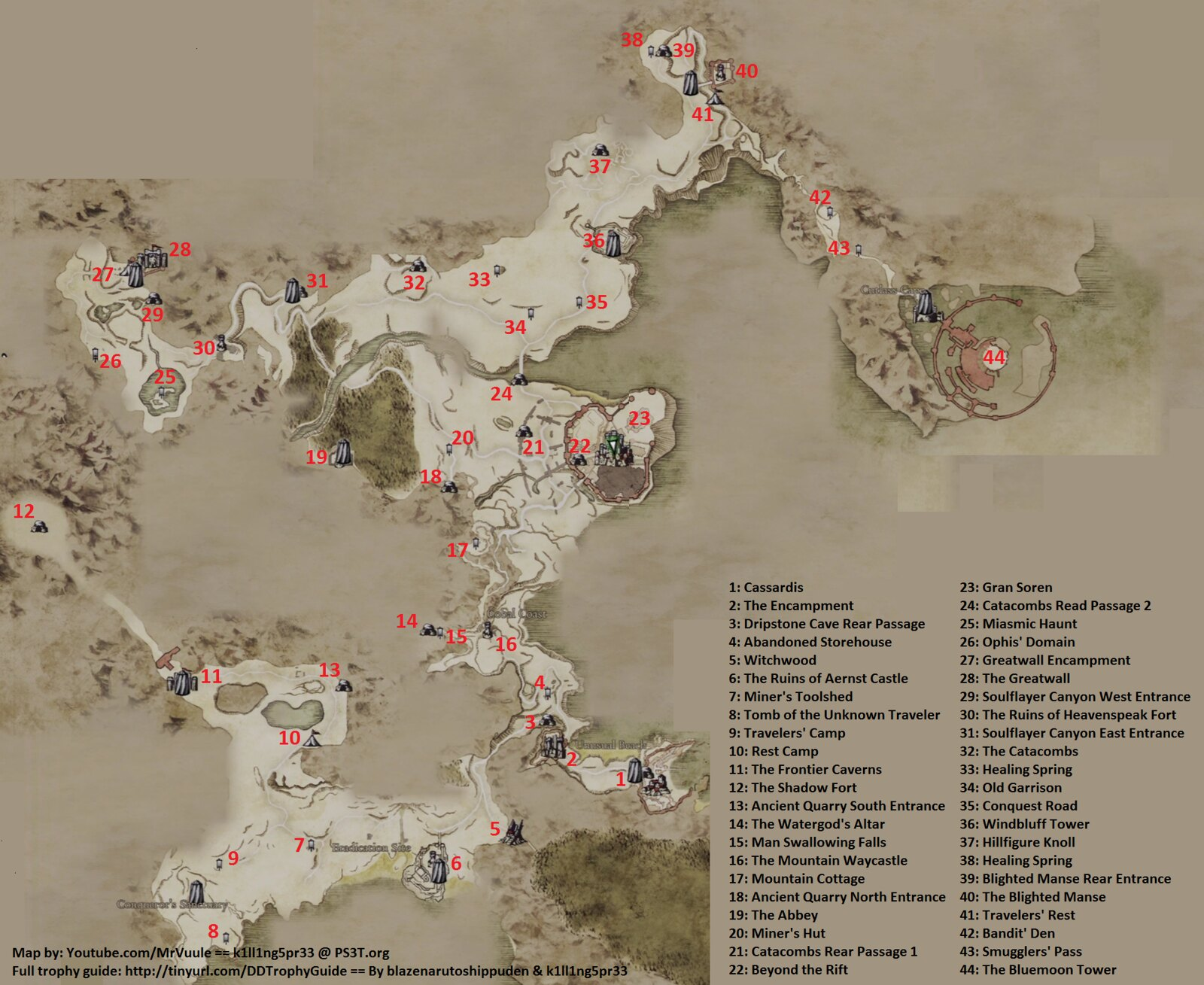 Dragons Dogma Map Dragons Dogma World Map