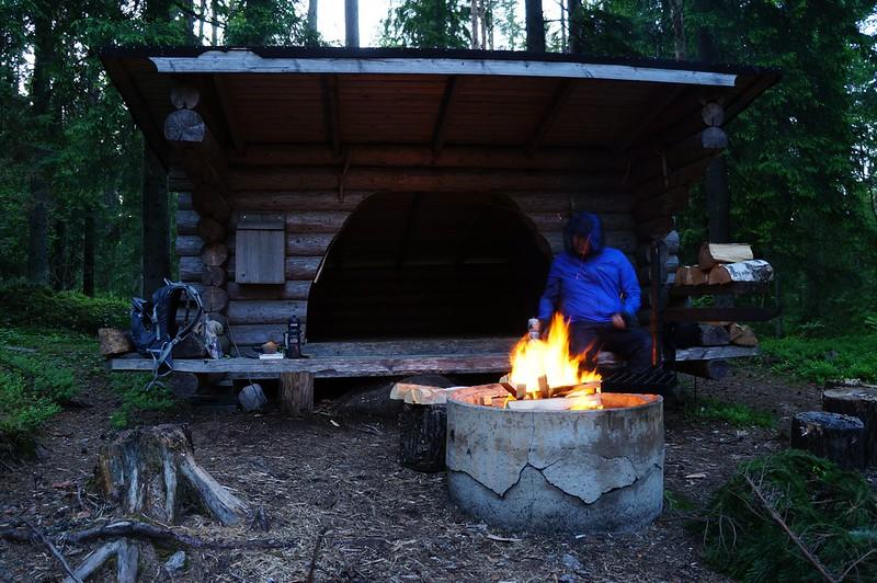 Peter at Camp