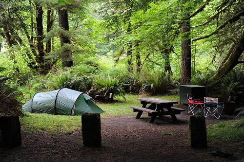 キャンプ準備完了