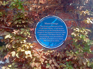 Plaque - St. Neots, Cambridgeshire