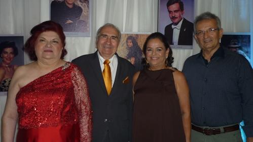 Raul e Laura Loureiro com Giselle e João Alho