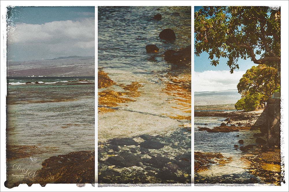 Image of a beach in Hawaii using Nik Analog Efex Pro 2 multilens effect