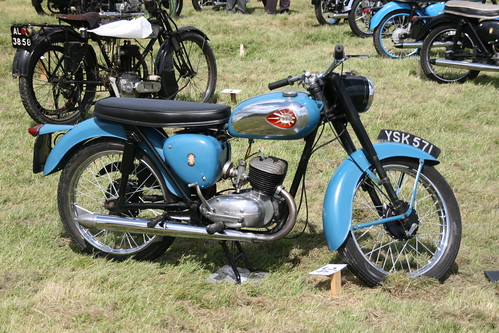 BSA Motorcycle YSK 571