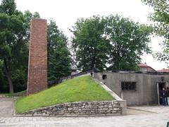 Gas chambers & oven at  Auschwitz I (Oświęcim, Poland 2014)